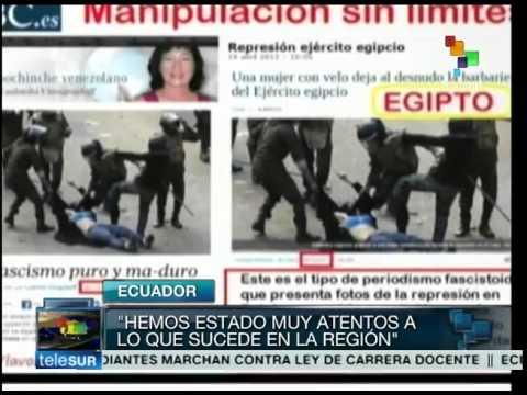 Protestas contra el gobierno de Ecuador y su impacto en redes sociales