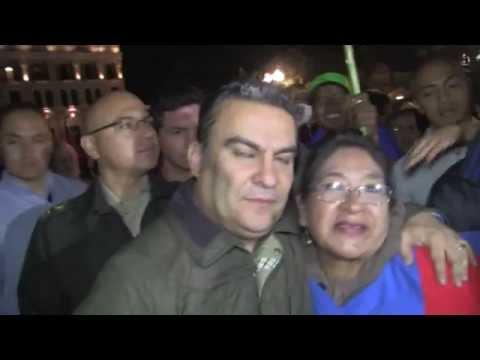 Apoyo total de pueblo ecuatoriano a su presidente Rafael Correa