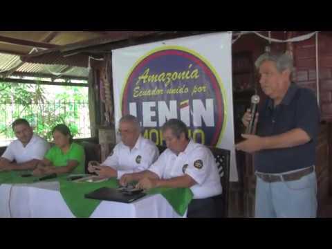 Movimientos sociales apoyan candidatura  a Lenin Moreno