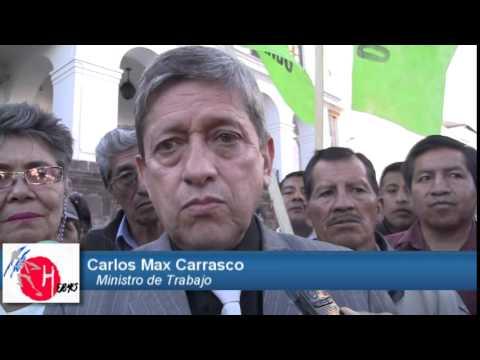 Carlos Marx Carrasco Ministro de Trabajo de la República de Ecuador