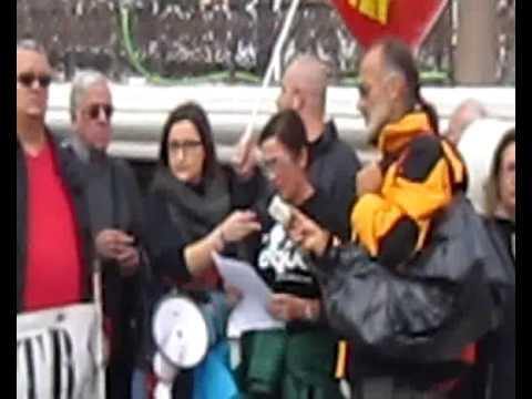 Marchas de la dignidad Alcala de Henares nov 2014 WMV