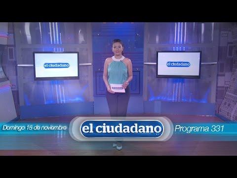 El Ciudadano TV Nro. 331 - 15/11/2015.