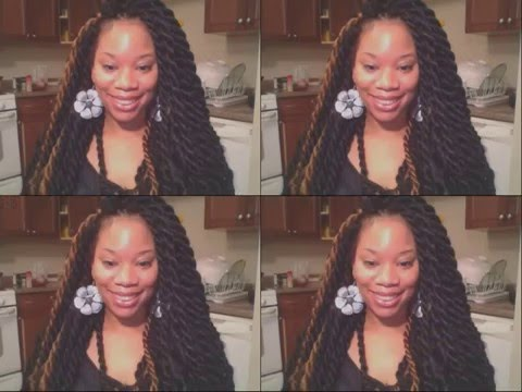Jumbo Crochet Hand Twisted Twists
