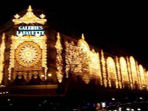 Illumination de noël/Christmas decoration (Paris)