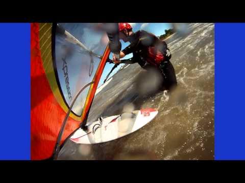 Windinfsurfing, Waves, St. Joseph/Benton Harbor, MI, September 5, 2011