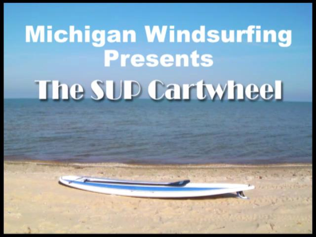 The SUP Cartwheel - Part I