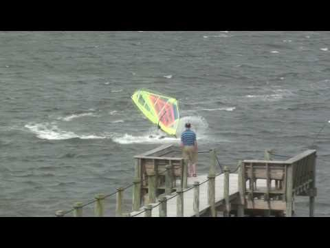 Windsurfing, Cape Hatteras, NC, April 28, 2011