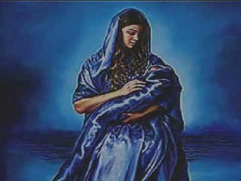 神を描く少女