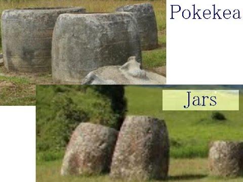 1678 (1677簡略版) Mystery of Pokekea, Indonesiaインドネシア、謎の巨石遺跡(ナスカ理論の応用と証明byはやし浩司)Hiroshi Hayashi, Japan