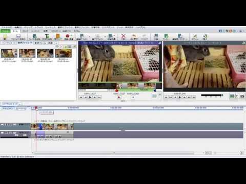 無料動画編集ソフト「VideoPad」切り取り、ぼかし、文字や音声の挿入など。