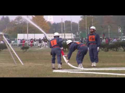 消防操法(模範演技)2008/11/15