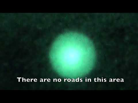 Massive UFO Landed Mount Adams