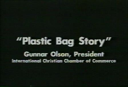 Gunnar Olson Plastic Bag Story