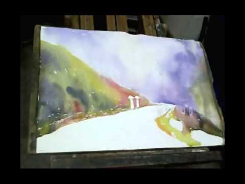 Watercolor Demo by Amit Kapoor - series 4