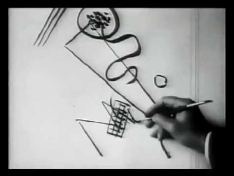 KANDINSKY DRAWING 1926