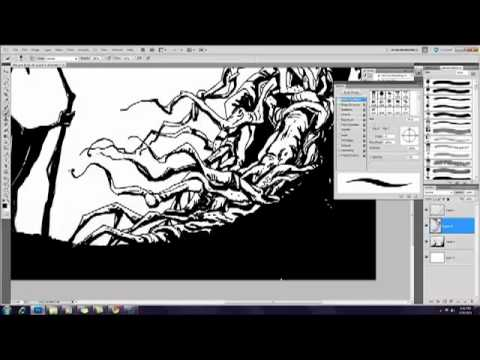 Digital Inking and coloring Tutorial