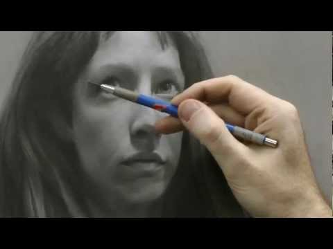 Time-lapse Portrait Drawing Demonstration by David Jamieson.