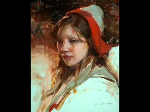 Daniel Gerhartz gyönyörű festményei  1 rész 112 videó