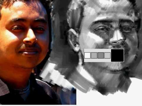 Digital Portrait Demo, May '12