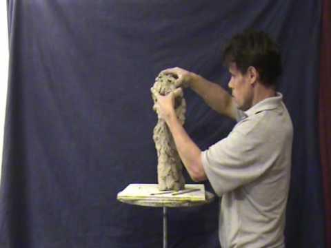 SCULPTING DEMO, by Sculptor Michael Weir