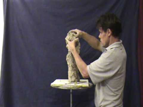 SCULPTING DEMO, by Sculptor Michael Weir