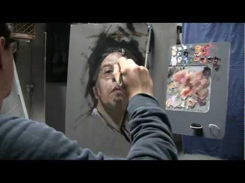 2.5 hour Alla Prima painting - David Jon Kassan