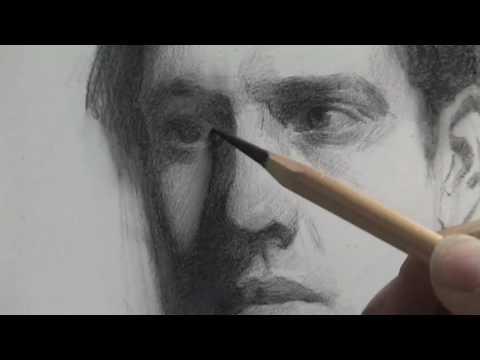 Richard Morris Portrait Drawing Demo