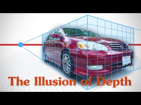 The Illusion of Depth - Perspective, Details and Overlapping Forms