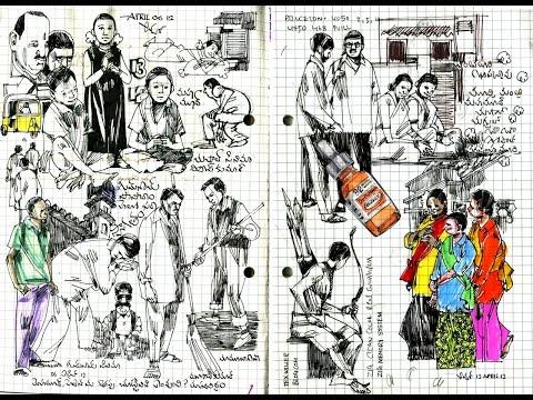 Journey through my sketch book -1
