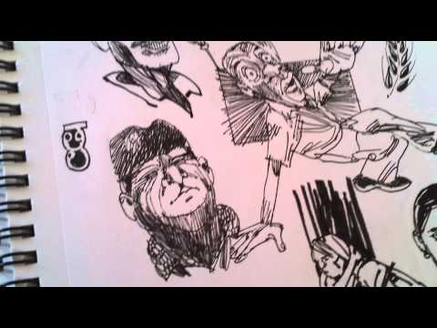 Journey through my sketchbook 2