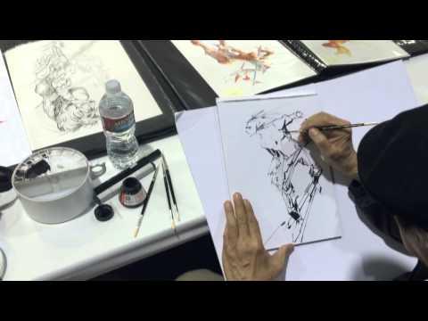 Brush Work - Alex Nino