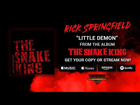 "Rick Springfield - ""Little Demon"" (Official Audio)"