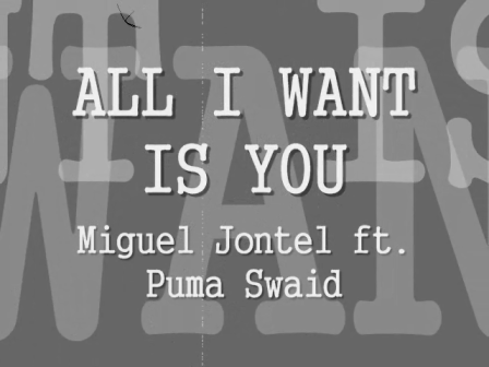 All I want is u