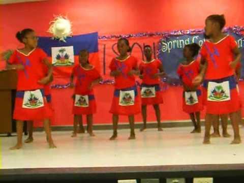 Bri 3rd Grade Haitian Dance Recital