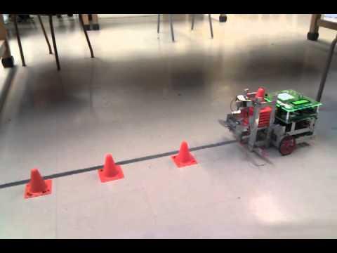 AER201 Team 1 Cone Deployment Robot