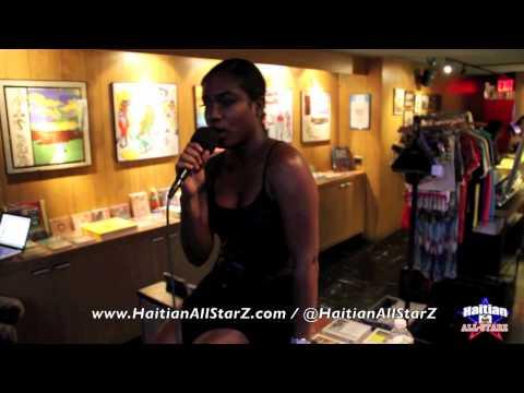 2 Turntables & 1 Mic (Farrah Burns Freestyle on Haitian All-StarZ Radio TV)