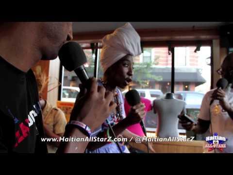 Kim TheMuse Charles Phoenix Refined NYC's 1st Haitian MasCamp (Haitian All-StarZ Radio TV)