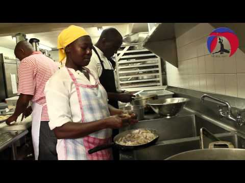 Behind the scenes with Chef Lemaire @ Gout et Saveurs Lakay, 2013: Petionville, Haiti