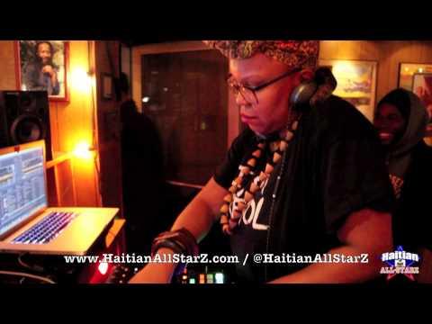 DJ Sabine Blaizin on Haitian All-StarZ Radio (TV)