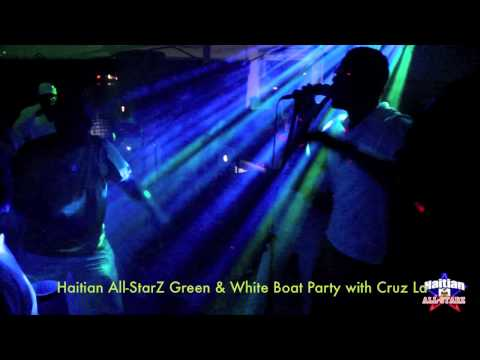 Party On The Sea (GREEN & WHITE BOAT PARTY) with CRUZ LA (Video 2)