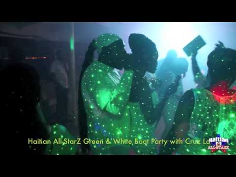 Party On The Sea (GREEN & WHITE BOAT PARTY) with CRUZ LA (Video 3)