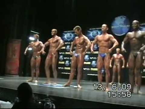 Fame 2009, Montreal - Natural Bodybuilding - part 1