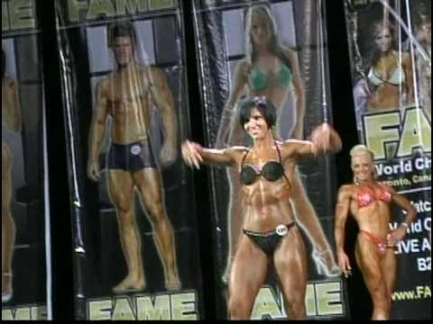 FAME Female Muscle Models @ FAME World Championships 2008