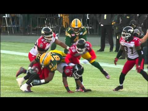 2015 West Final: Calgary Stampeders at Edmonton Eskimos