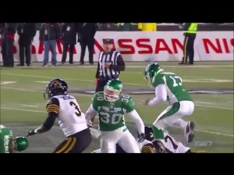 CFL Tiger Cats vs Roughrider 101 Grey Cup