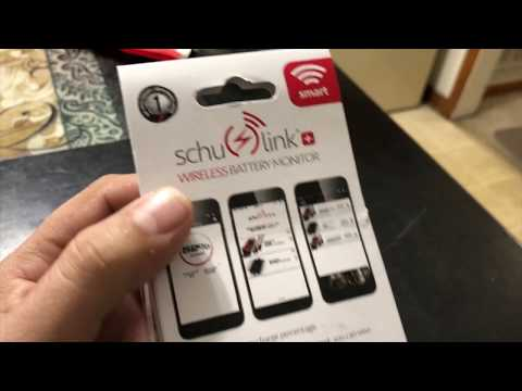 schulink wireless battery monitor.