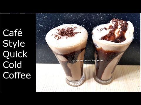 Cold Coffee Recipe   Easy Homemade Cold Coffee Recipe With Ice Cream In Hindi   कोल्ड  कॉफ़ी  रेसिपी