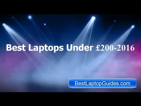 Best Laptops Under £200-2016 in UK