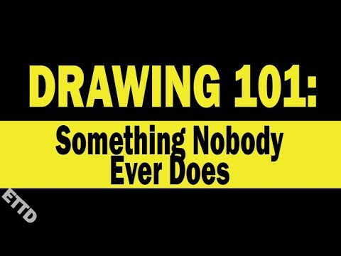 How to Draw - easy drawing ideas when bored
