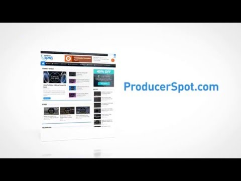 ProducerSpot  - Music Production Website
